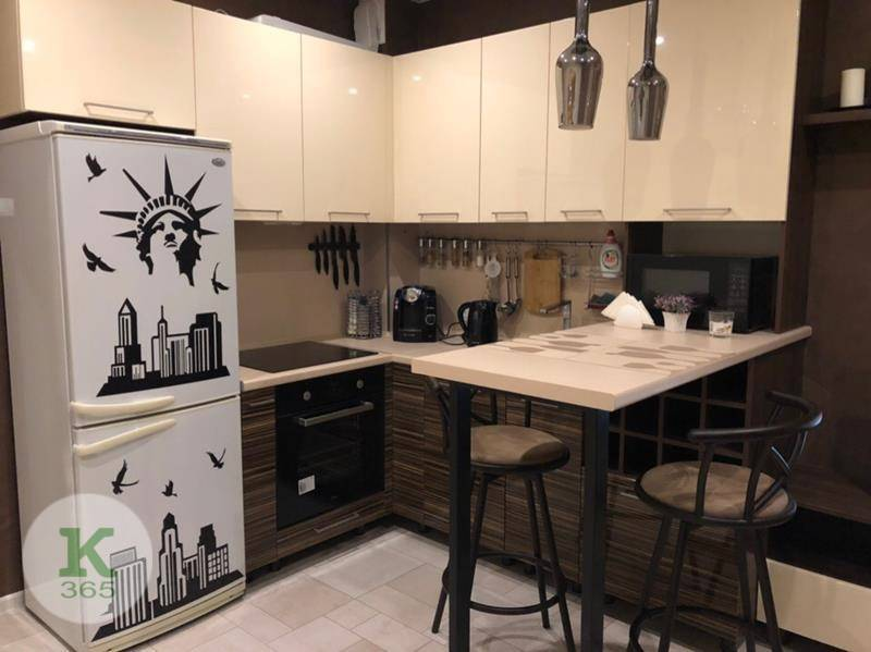 Коричневая кухня Академия артикул: 0001019696