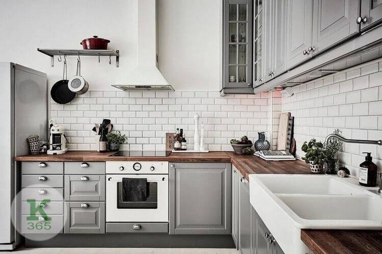 Серебристая кухня Надежда артикул: 233245