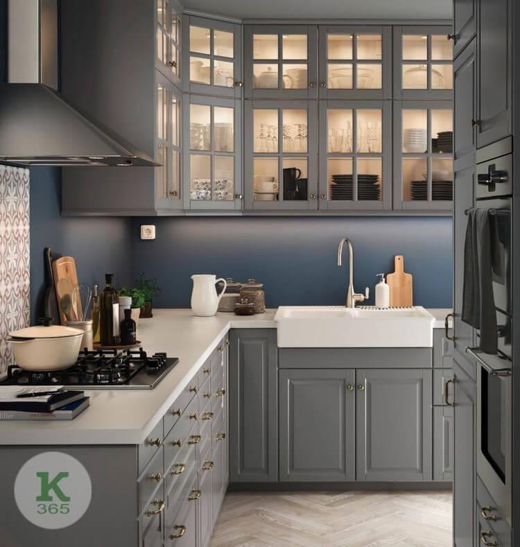 Серебристая кухня Кипр артикул: 238050