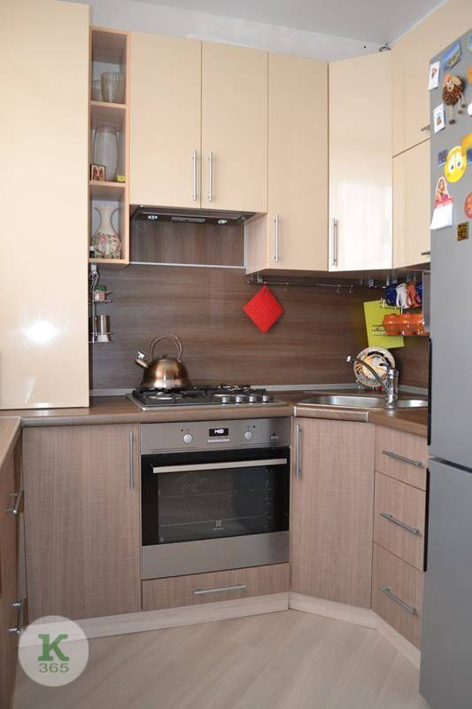 Коричневая кухня Николь артикул: 00041861
