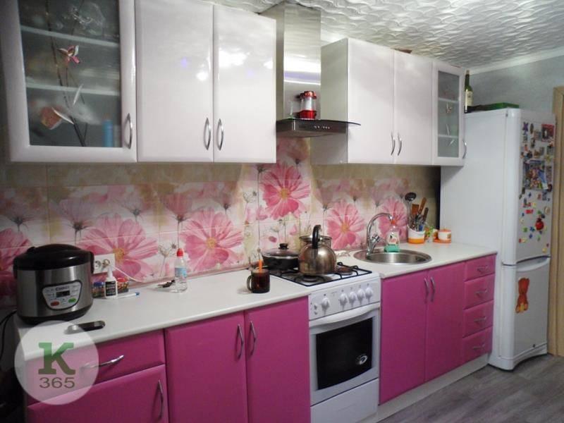Розовая кухня Сати Квадро артикул: 482162