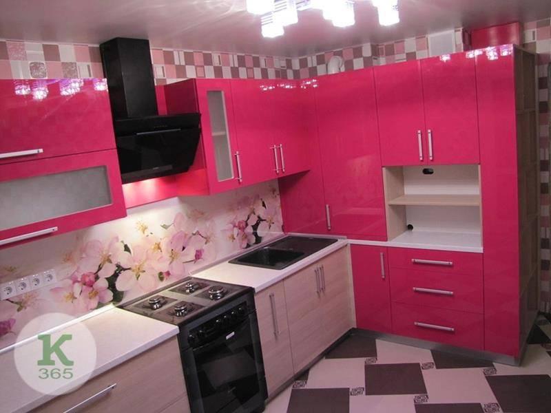 Розовая кухня Наша Марка Квадро артикул: 487085