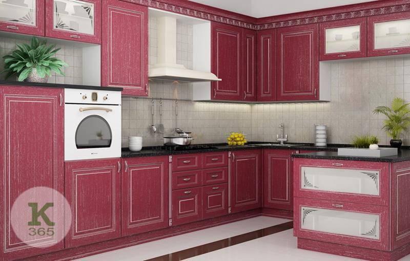 Розовая кухня Дарина Чехия Квадро артикул: 489061